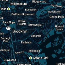 Snazzy Maps - Color Schemes for Google Maps