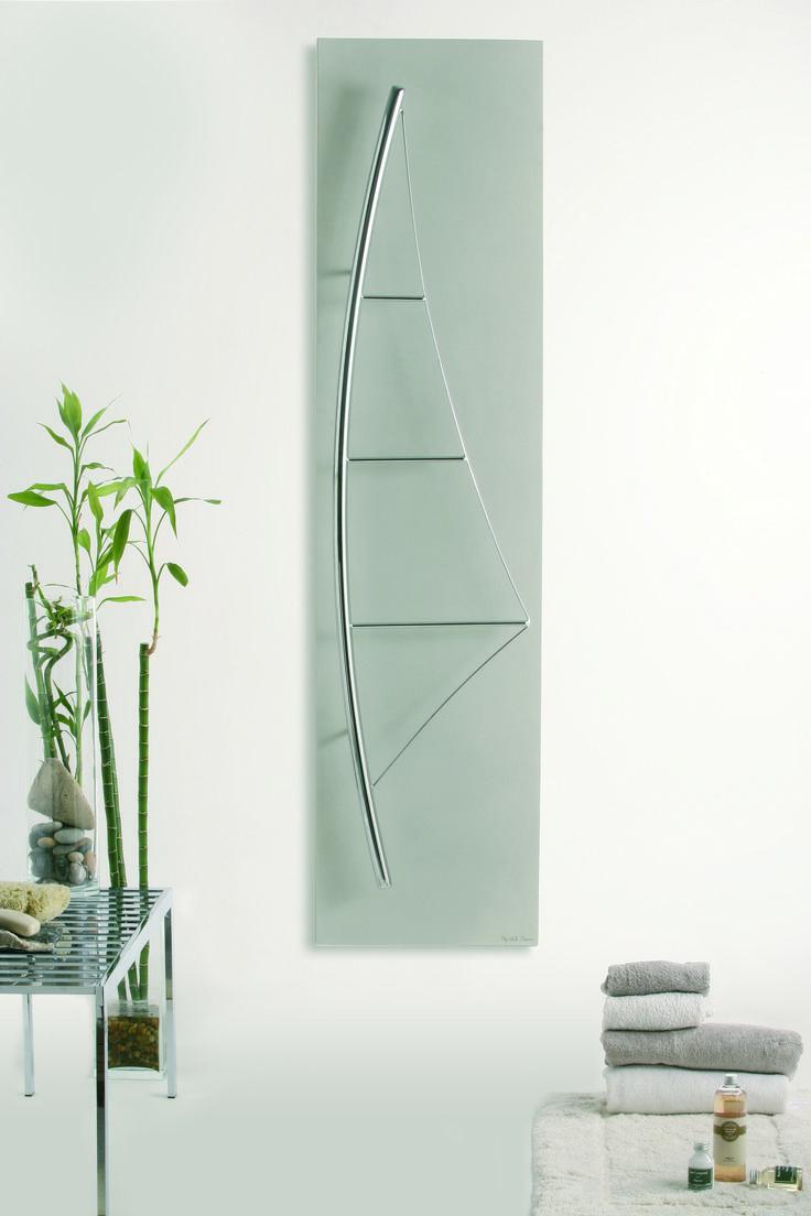 VOILE - Towel Heater & Radiator. 78-3/4 inch x 19-