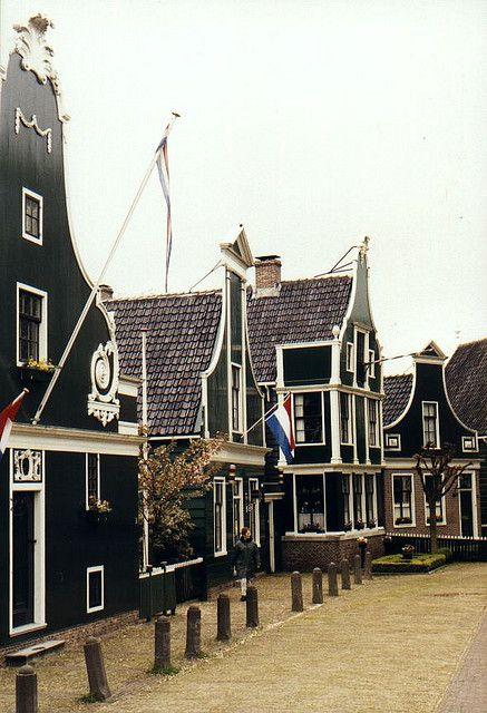 Zaanse Schans - traditional Dutch village, lots of windmills too!