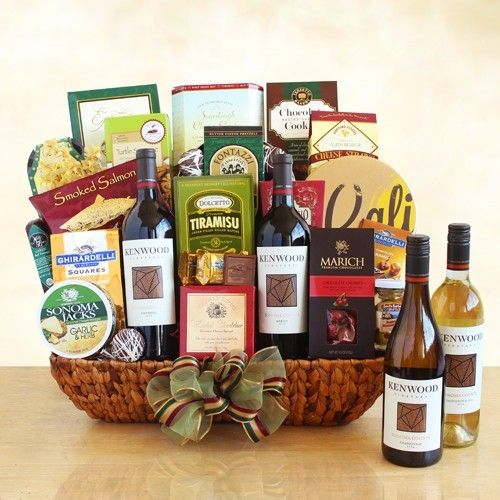 Kenwood Winery 4 Bottle Extravaganza | Buy at All About Gifts & Baskets (https://www.aagiftsandbaskets.com/kenwood_winery_4_bottle_extravaganza.html)