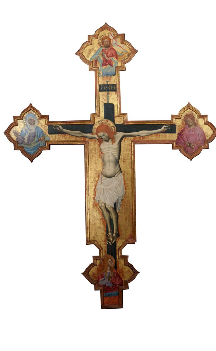 Due croci sagomate di Michele di Matteo