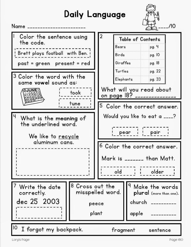 Printables Daily Oral Language 3rd Grade Worksheets Free language search and spirals on pinterest independent spiral daily review for 2nd or 3rd graders