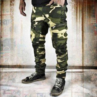Yakuza Industrial Cargo Pants CPB 8041 camouflage yellow pánske nohavice