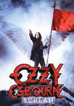 Ozzy Osbourne Poster Flag Scream Tapestry