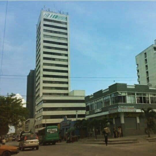 Edificio del Banco Popular en Barranquilla Colombia
