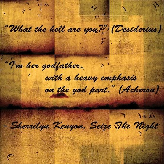 Sherrilyn Kenyon Seize The Night Darkhunterology Pinterest Night Nights And Ojays