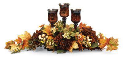 Goblets & Florals Centerpiece