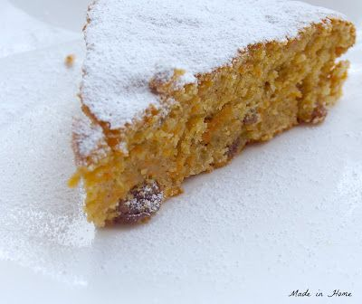 Skinny carrot cake - from the hairy dieters book