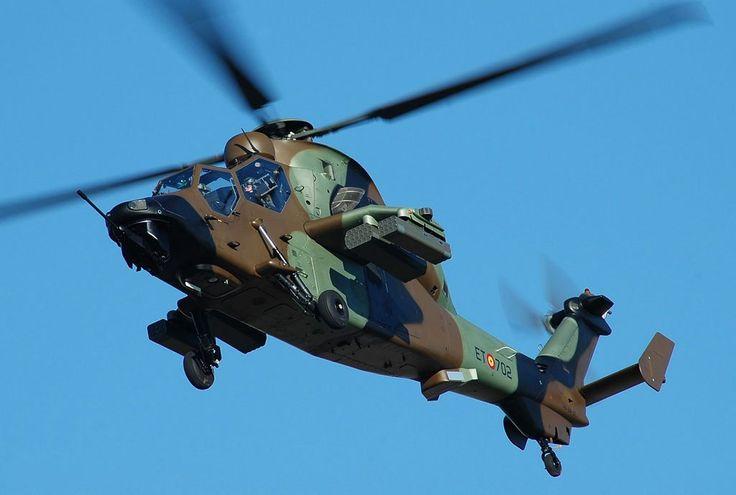 Helicóptero de ataque Eurocopter EC665 Tigre HAP (HA-28), FAMET.