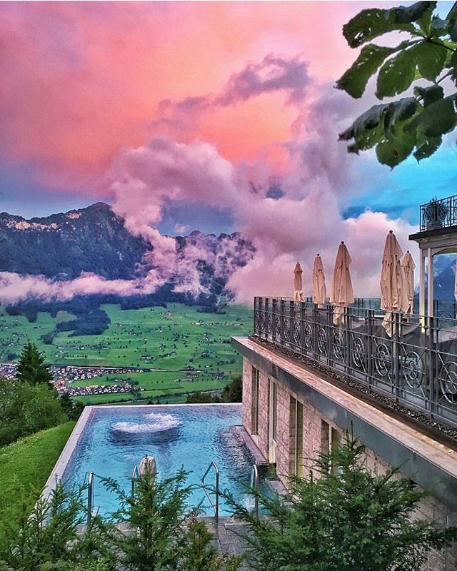 Hotel Villa Honegg Switzerland by @wildluxe_misha  #switzerland #hotelsandresorts