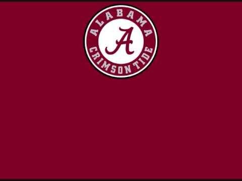 University of Alabama Crimson Tide - fight song with words - Yea Alabama!