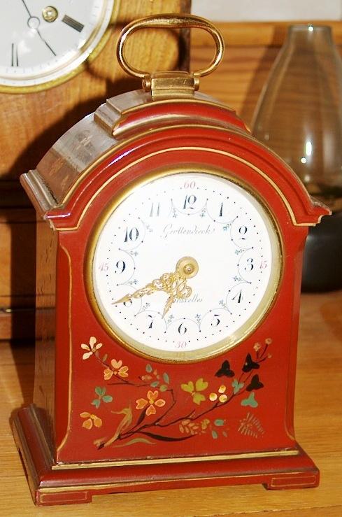 Europe belgium (Grottendieck Brussel) small mantel clock 1870 http://www.timemaster.nl/mangumwhitehouse-clock-museum/