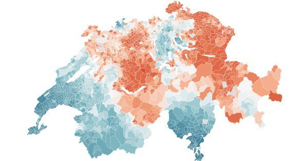 Wissenschaftler brechen erstmals die Todesrisiken bis auf Gemeindeebene herunter. Die Deutschschweiz ist überzuckert und Welsche sterben häufiger an Alkohol.