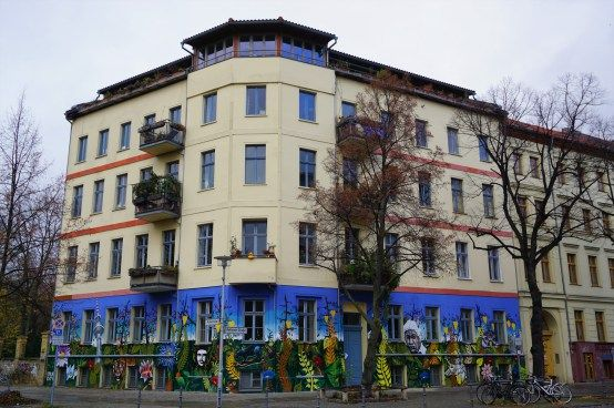 Apartment building on Ackerstraße
