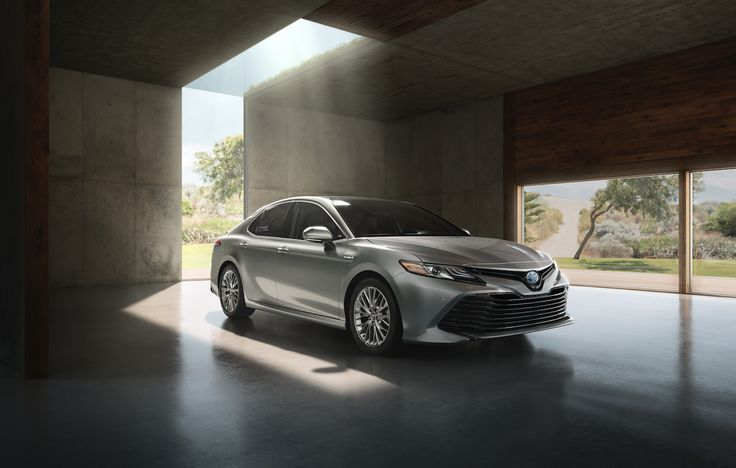 Sleek and stylish - the all new 2018 Toyota Camry