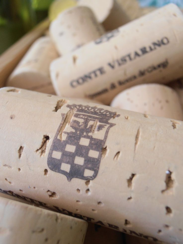 Cork of Conte Vistarino Winery