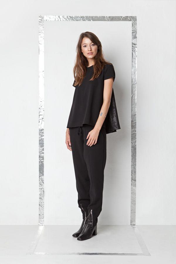 by Magda Hasiak: SAVESAFE #magdahasiak #polish #fashion #designer #fw17 #autumn #winter #model #newcollection #polishfashion