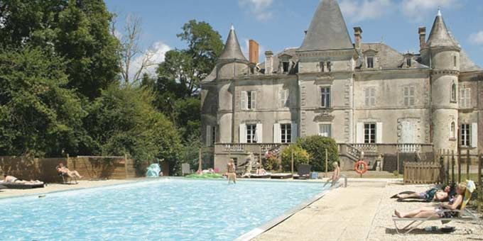 Chateau La Foret is part of the Yelloh! chain of campsites and can be found near to the town of Saint Julien des Landes in the Vendee countryside.