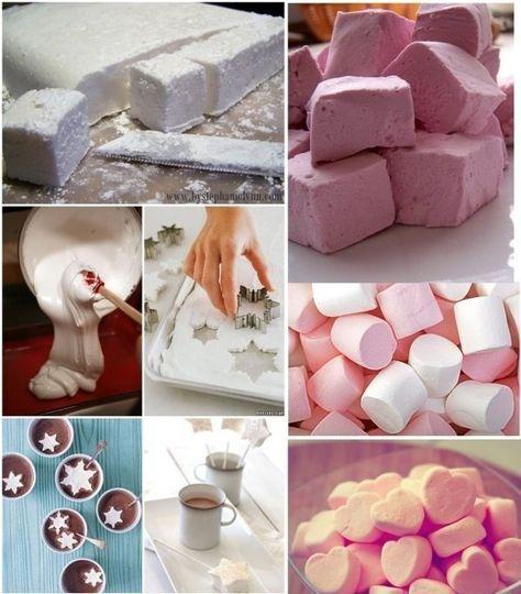 Domowe pianki marshmallows ♥♥♥ Musisz je zrobić!!!
