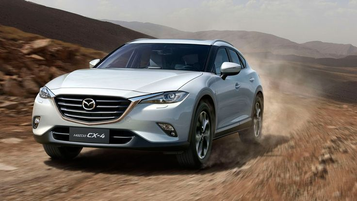 Mazda introduces more stylish and much-improved CX-4 active crossover