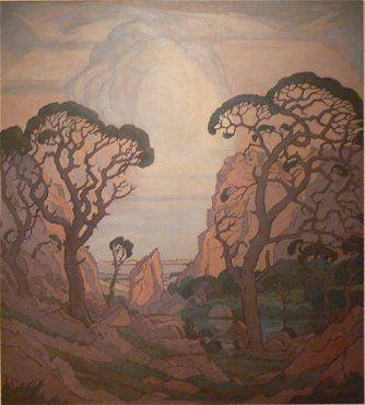 Jacob Hendrik Pierneef (South Africa, 1886-1957)