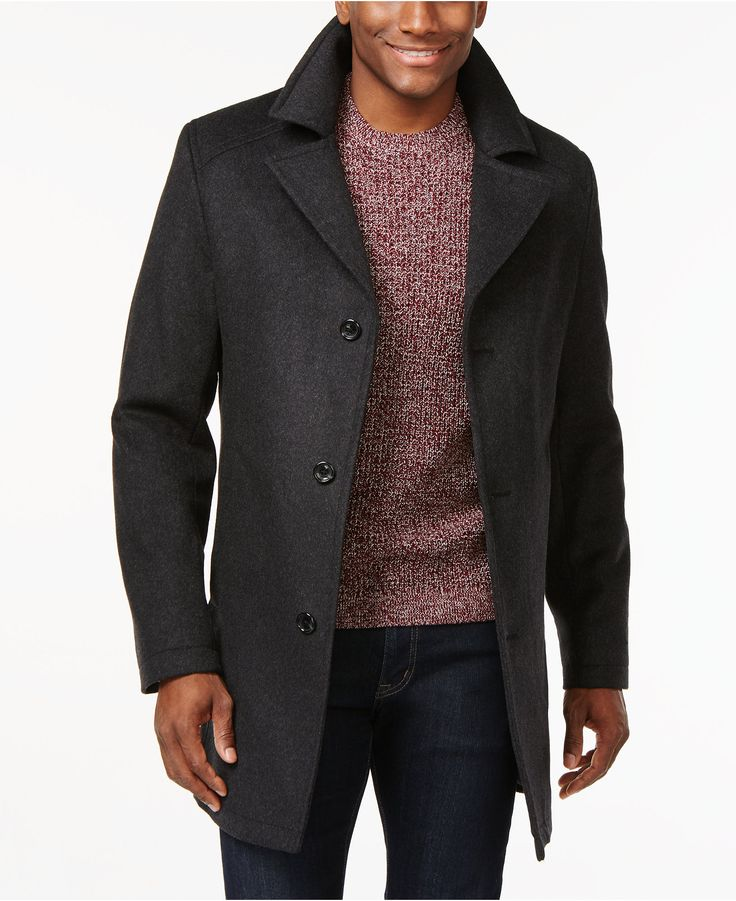 Michael Michael Kors Archdale Slim Fit Overcoat Coats