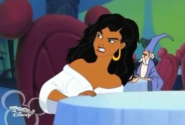 House Of Mouse Esmeralda And Merlin Cameo House Of