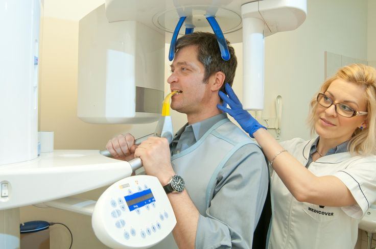 The panoramic x-ray room - Budapest, Hungary, Budapest Top Dental, A dental clinic in the capital of dental tourism.