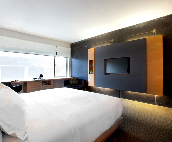 LEMAYMICHAUD | GERMAIN | Toronto | Maple Leaf Square | Architecture | Design | Hospitality | Hotel | Room |