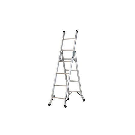 Abru Aluminium 3-Way Combination Ladder, (H)3.40M | Departments | DIY at B&Q
