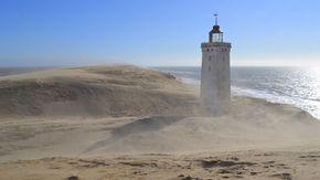 Skagen ou se rencontrent mer du Nord et mer Baltique Danemark voyage en famille