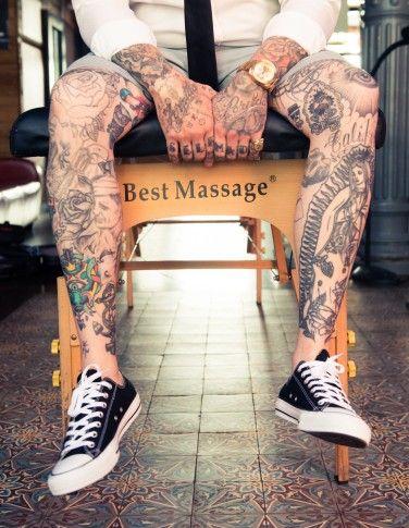 Luke Wessman - The Coveteur World  Famous Tattoo Artist NYC CA
