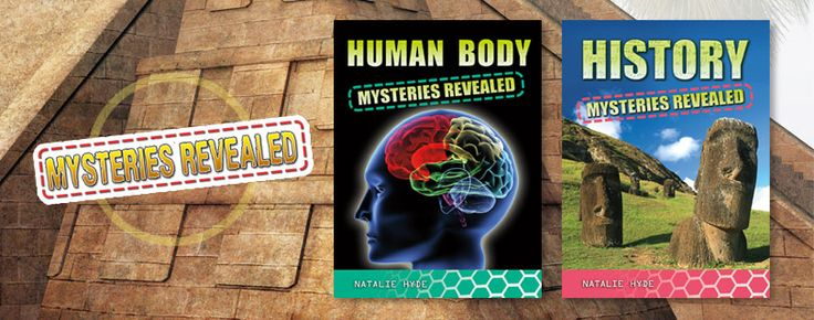 Mysteries Revealed series (Crabtree Publishing)_ is an entertaining series of books that uses scientific principles to help explain many of the mysteries that surround us—from how ancient peoples built enormous structures that still survive today to whether we will ever be able to travel through time. Reluctant readers will be drawn into these high-interest subjects by  appealing images and Amazing Facts boxes. Grades 3-6