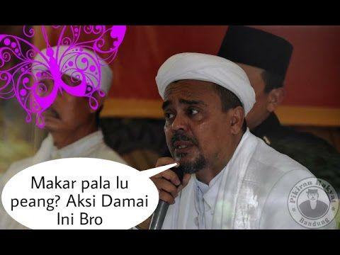Habib Rizieq Semprot Kapolri dan TNI soal tuduhan makar aksi 2 Deember