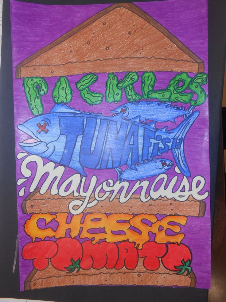 Text Sandwich 7th Grade Lesson vocabulary.  visualizing language.  incorporating graffiti techniques. . .