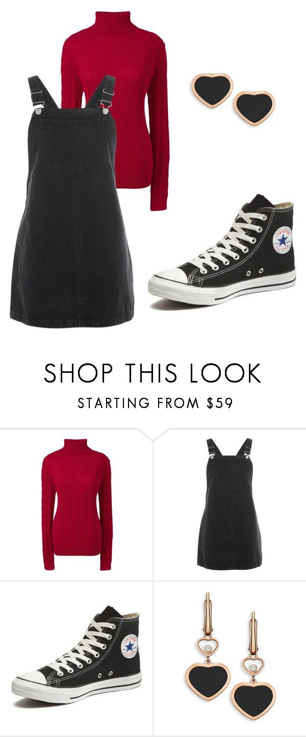 samantha - outfit 10 by electrasweetheart on Polyvore featuring Topshop, Lands' End, Converse and Chopard