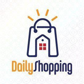 Exclusive Customizable Logo For Sale: Daily Shopping | StockLogos.com https://stocklogos.com/logo/daily-shopping