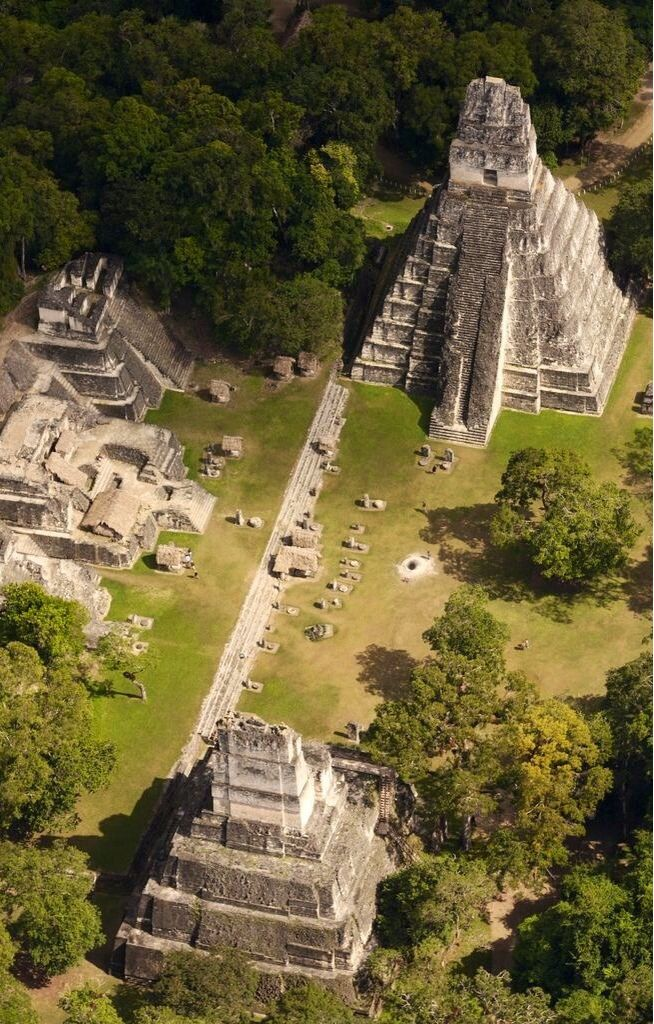 Tikal, Guatemala | One of the largest archaeological sites. It is located in the Petén Basin in northern Guatemala. This amazing site is part of Guatemala's Tikal National Park.