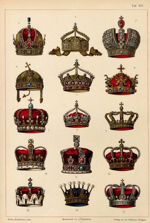 Choisissez votre couronne...de toute façon elles ne servent plus à rien !