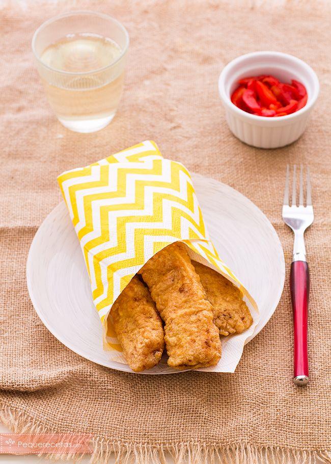 Descubre esta receta de Semana Santa: soldaditos de Pavía, una receta fácil, ideal para que los niños coman pescado. No te pierdas la receta paso a paso.