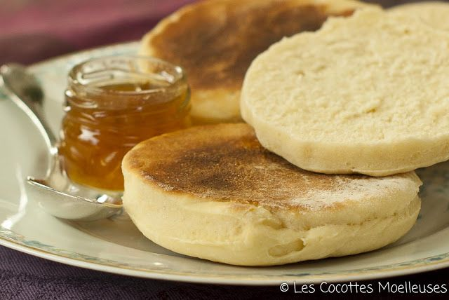 Les Cocottes Moelleuses: The english muffins Génial!!!