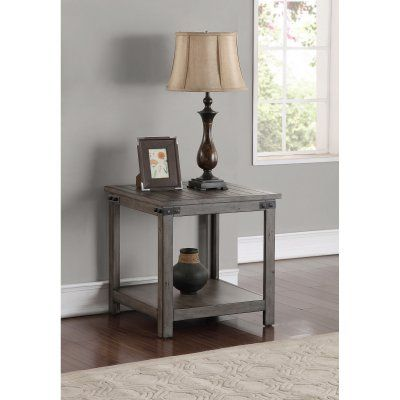Legends Furniture Storehouse End Table - ZSTR-4100