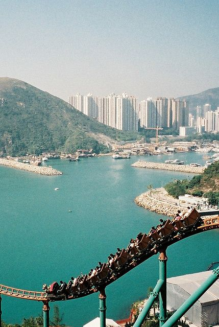 Hong Kong, Ocean Park - This coaster wasn't there when I was in Hong Kong!  Guess I need to go again!