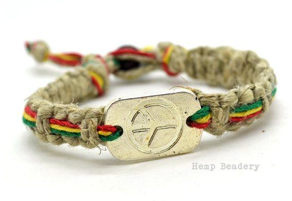 Hey, I found this really awesome Etsy listing at https://www.etsy.com/listing/171428195/rasta-hemp-bracelet-thick-hemp-bracelet