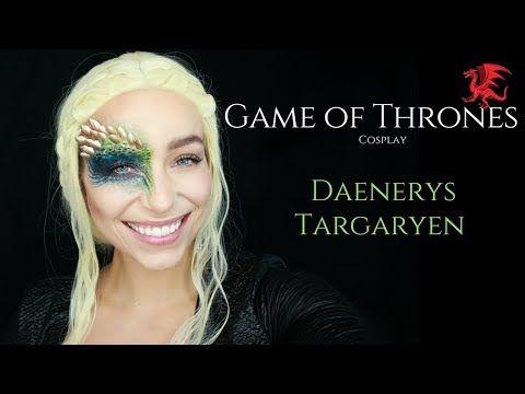 (64) Daenerys Targaryen Mother of Dragons Makeup Tutorial - YouTube