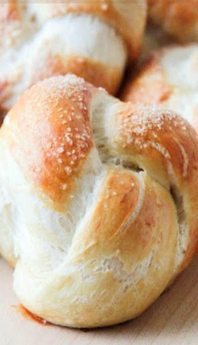 Homemade Pretzel Rolls | Breads & Butters | Pinterest