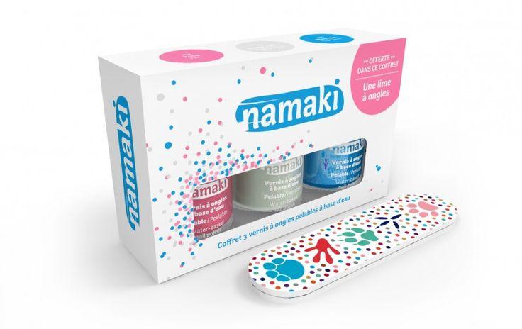Deze+nagellak+op+waterbasis+van+het+merk+Namaki+is+speciaal+ontworpen+voor+kinderen! De+nagellak+bevat+géén+gevaarlijke+stoffen+en+kan+gewoon+verwijderd+worden+als+een+sticker+dus+ook+geen+dissolvant+nodig.