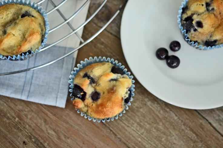 Gluten Free Blueberry Swirl Muffins – Kelsey Hamlitsch