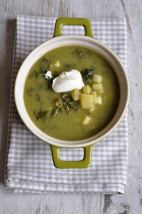 Zupa brokułowa z jarmużem #thermomix