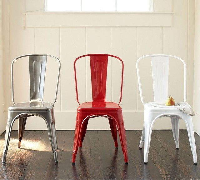 TolixTM Cafe Chair Eclectic Dining Chairs And Benches Pottery Barn